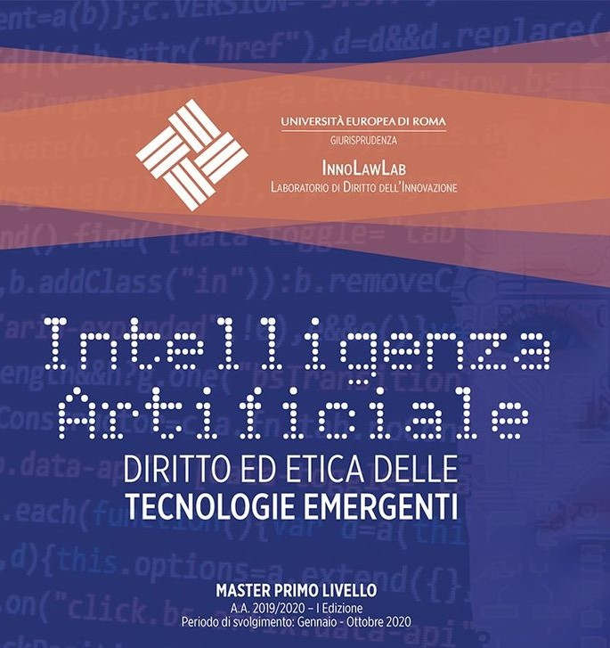 "Closing ceremony of the Master in ""Artificial Intelligence: Law and Ethics of Emerging Technologies"""